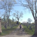 Photo of the entrance to Eastport, MEs Hillside Cemetary